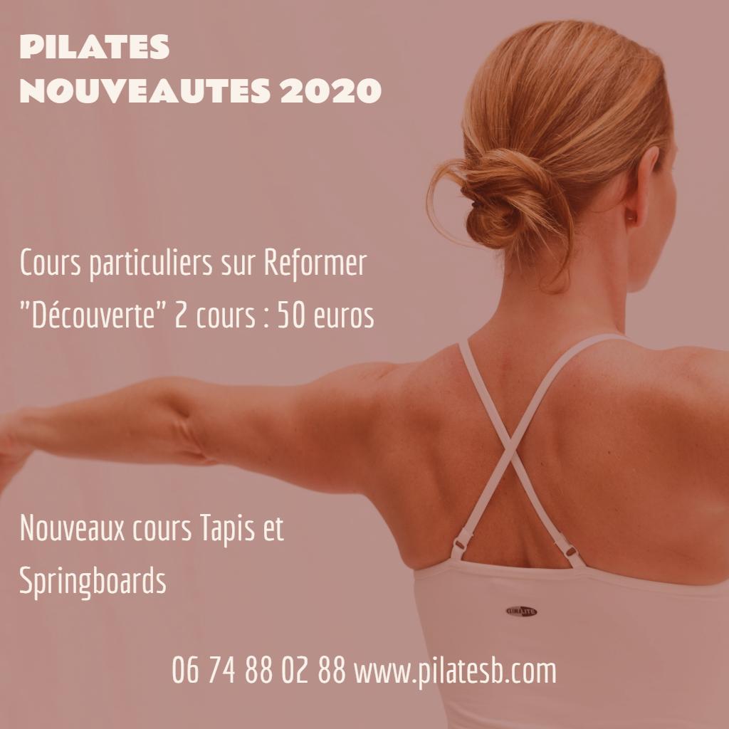 #PILATES –  NOUVEAUTES 2020 Le Reformer est un équipement conçu par Joseph Pila…